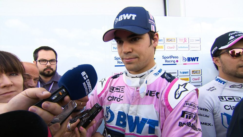 Lance Stroll: A better Friday than the last couple we've had