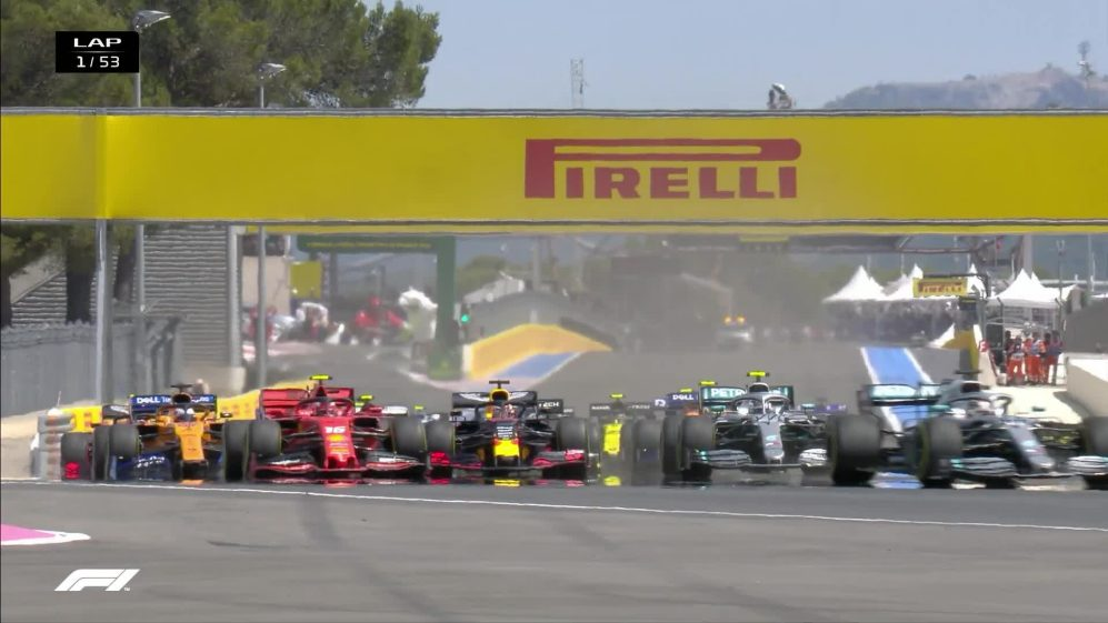 FRENCH GP: Watch the F1 race start at Le Castellet