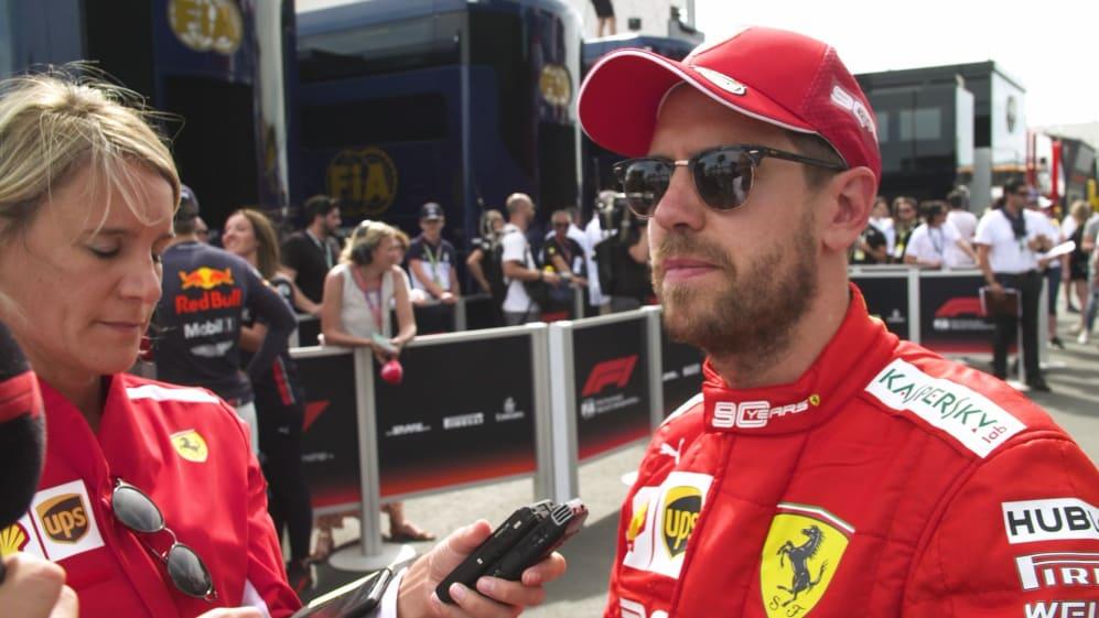 Sebastian Vettel says Ferrari 'failed' to close the gap to Mercedes