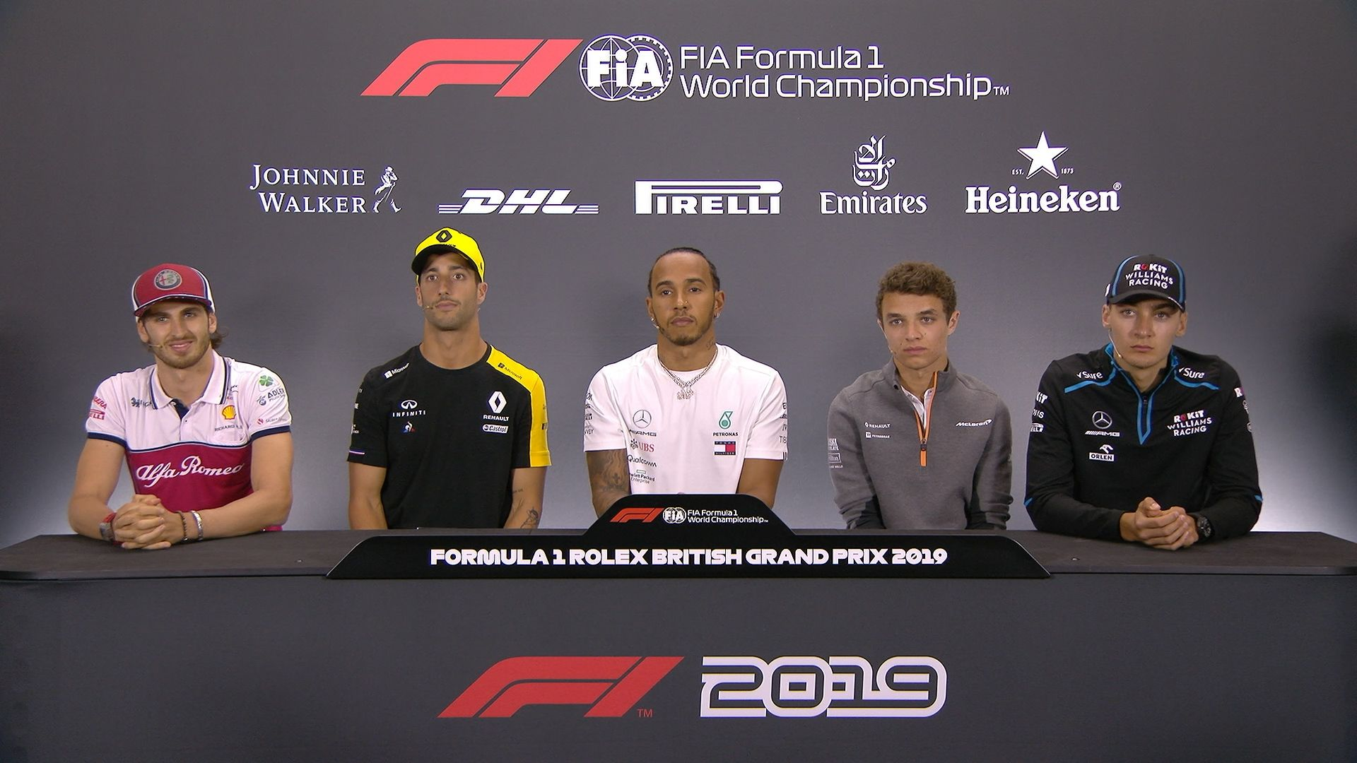 GREAT BRITAIN: FIA pre-race press conference highlights​