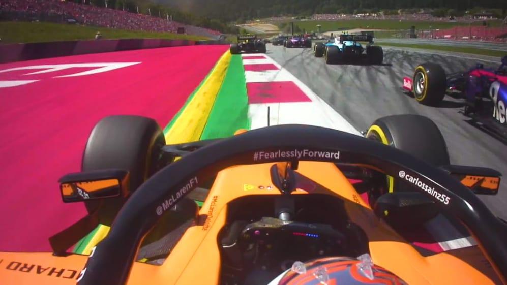 P19 to P8: Carlos Sainz's storming Austria drive