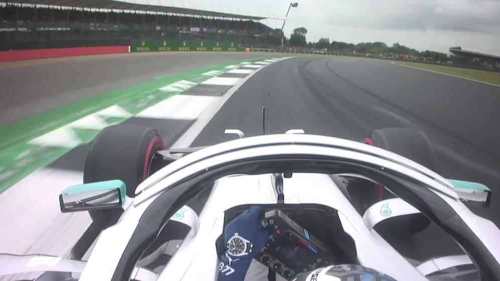 ONBOARD: Valtteri Bottas's Great Britain Pirelli pole position lap
