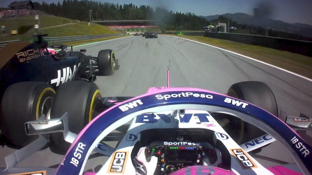 The ultimate hypercut from the start of the Austrian Grand Prix