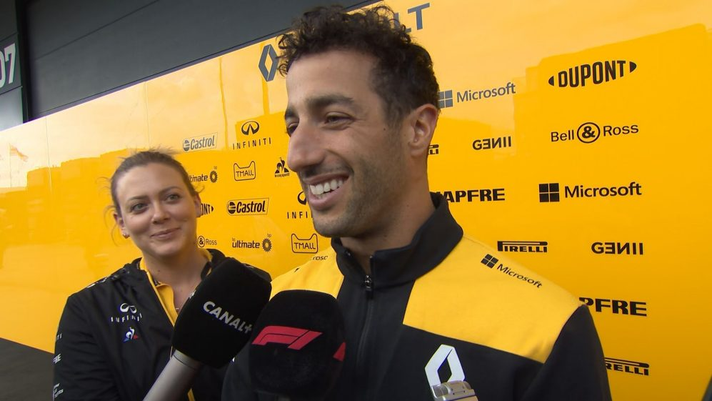 Daniel Ricciardo: Everything just switched off