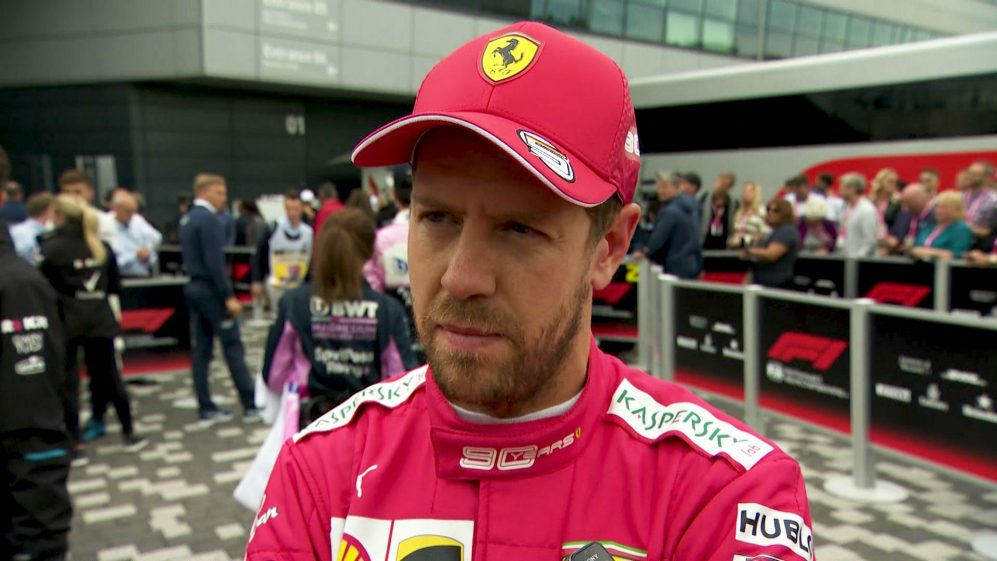 Sebastian Vettel: I destroyed my race