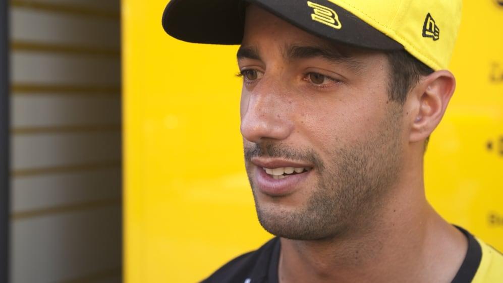 Daniel Ricciardo: I'll be excited if it rains