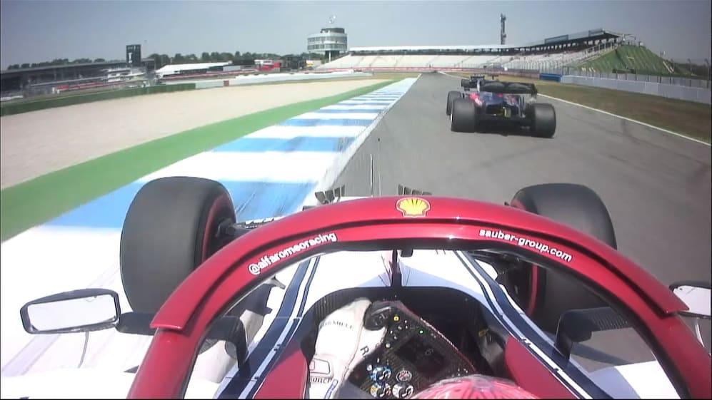 FP1: Raikkonen makes quick work of the traffic