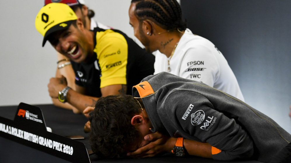 Top 10: Funniest F1 Press Conferences