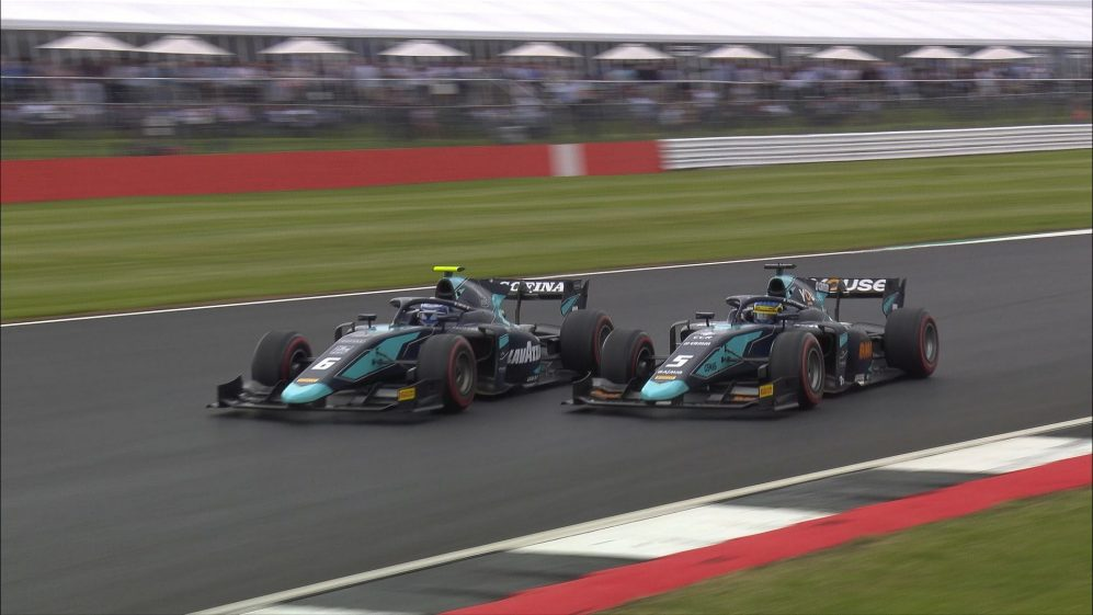 F2 2019 Round 7: Great Britain feature race highlights