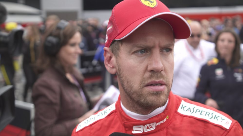 Sebastian Vettel: I struggled to feel the car today
