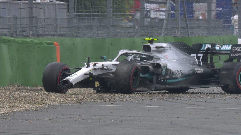 GERMAN GP: Bottas crash brings miserable end to Mercedes' afternoon