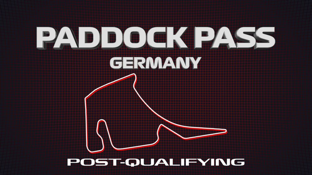 PADDOCK PASS: Post-Qualifying at the 2019 German Grand Prix