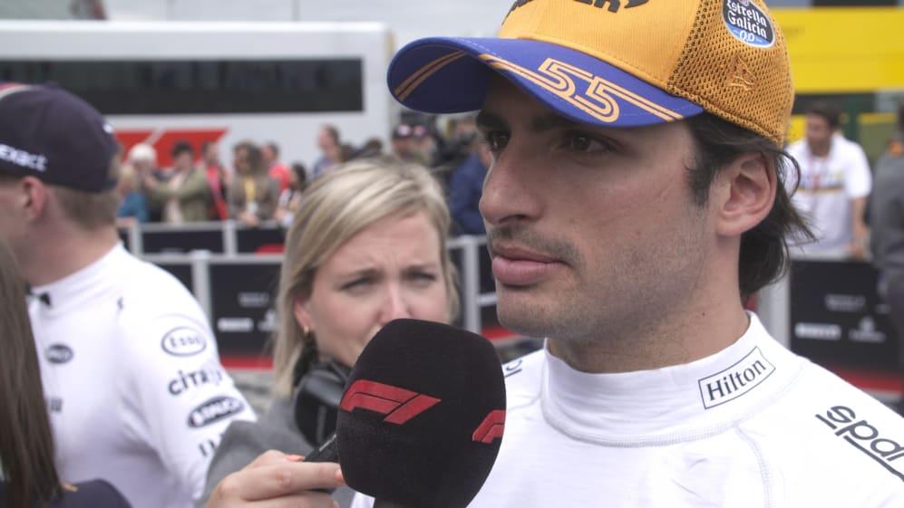 Carlos Sainz: Fun but stressful end to the race