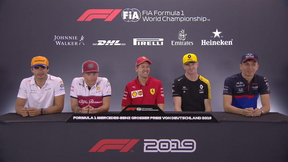 GERMANY: FIA pre-race press conference highlights