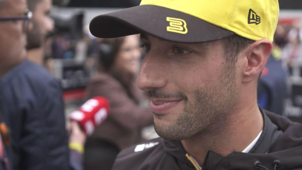 Daniel Ricciardo: P7 was a good one