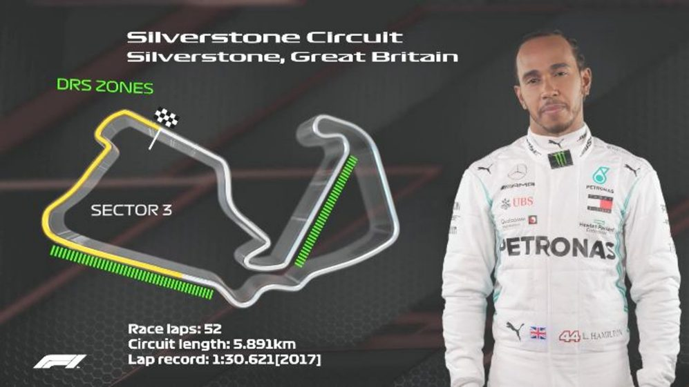 GREAT BRITAIN: Lewis Hamilton's Silverstone circuit guide