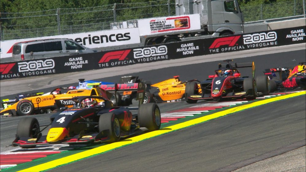 F3 2019 Round 3: Austria Feature Race highlights