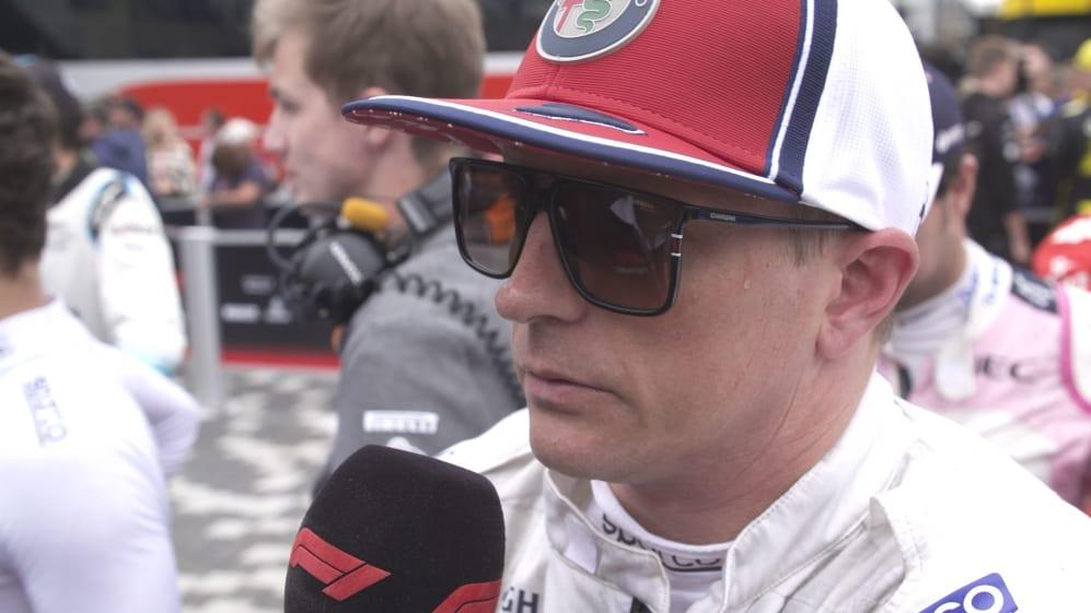 Kimi Raikkonen: P8 the best that we could do