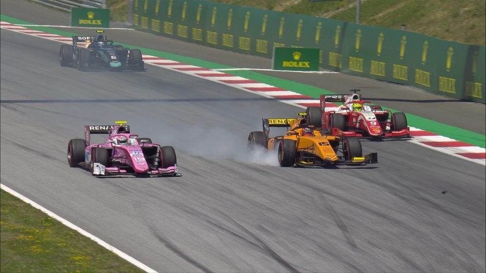 F2 2019 Round 6: Austria Sprint Race highlights