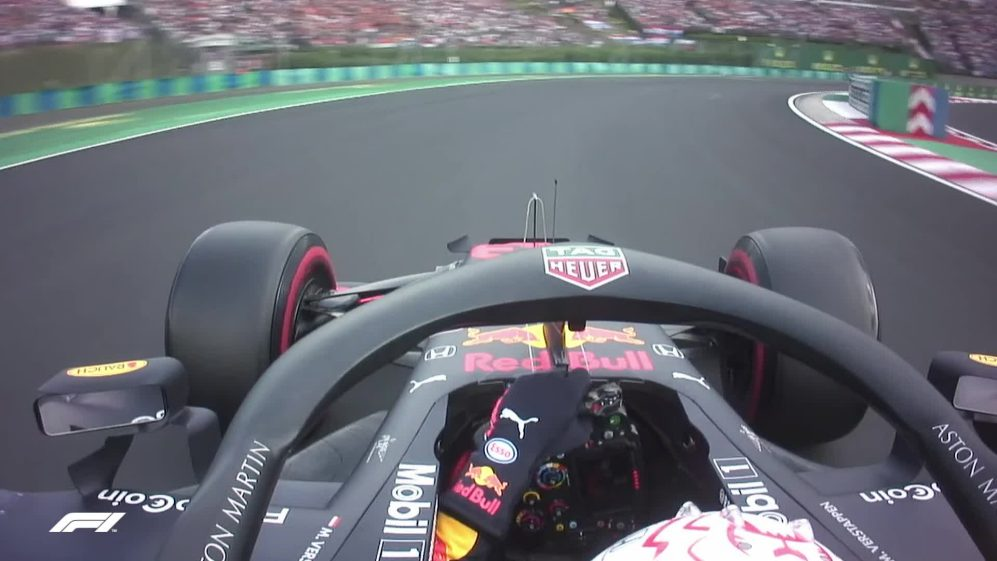 ONBOARD: Max Verstappen's Hungarian Pirelli pole position lap