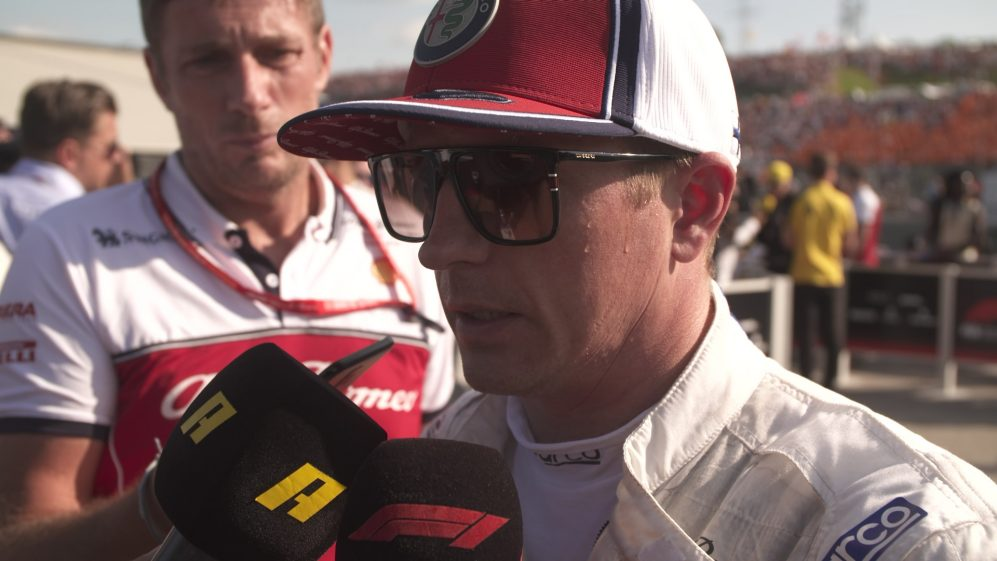 Kimi Raikkonen: 'I didn't expect much today' so P7 is good