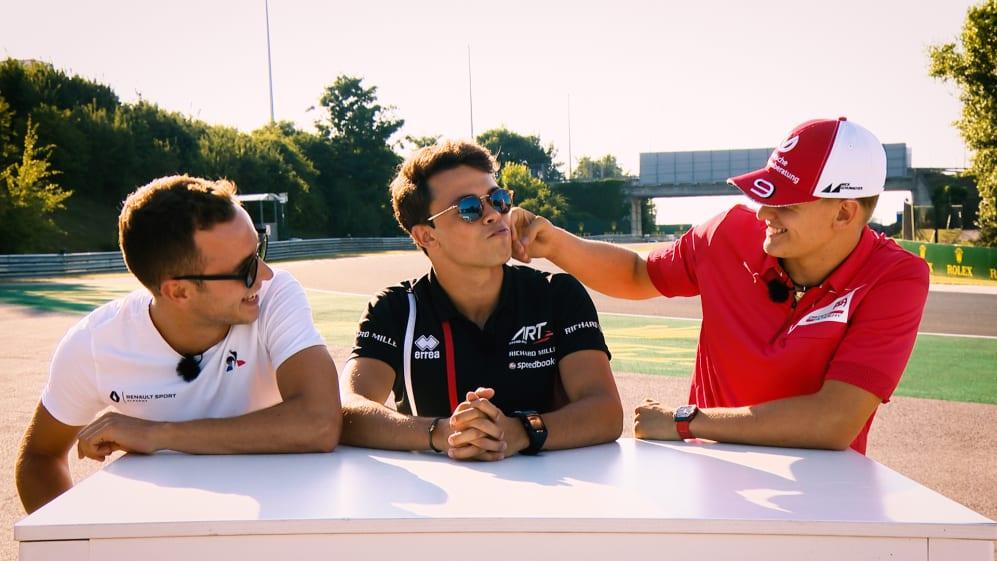 F2 Truths 1 Lie: Schumacher, De Vries and Hubert