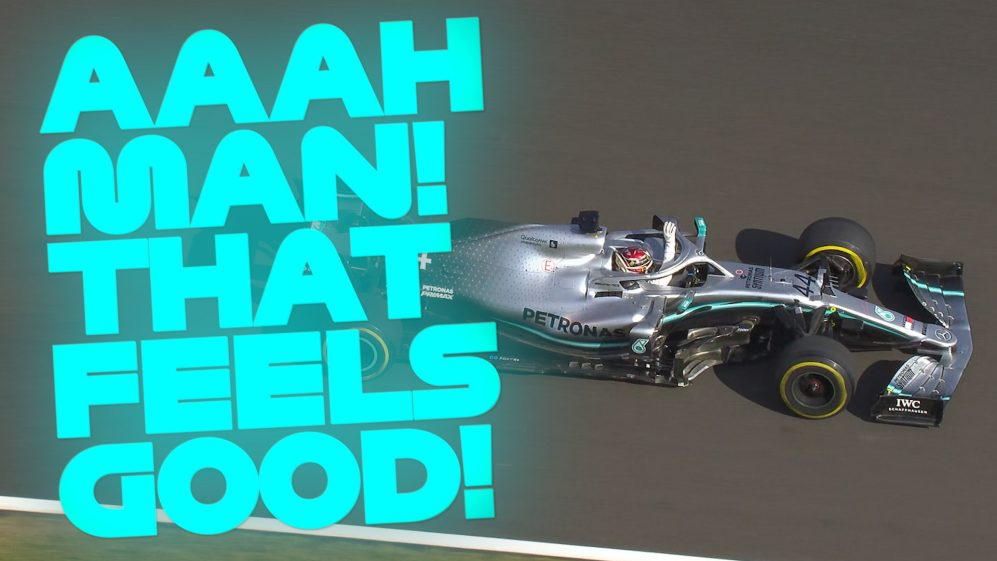 Hamilton and Verstappen's epic battle in Budapest