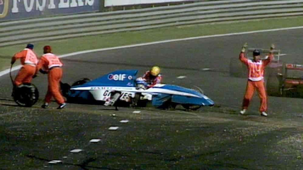 F1 VAULT : Belgium 1992 - Ayrton Senna saves Erik Comas' life