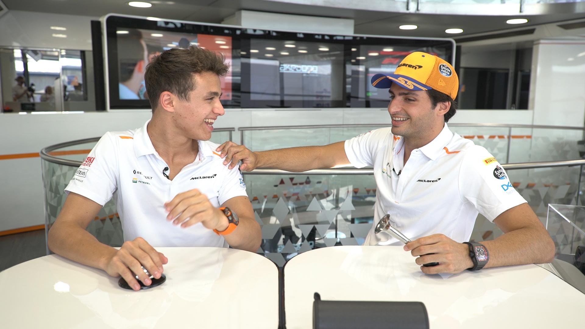 GRILL THE GRID: McLaren