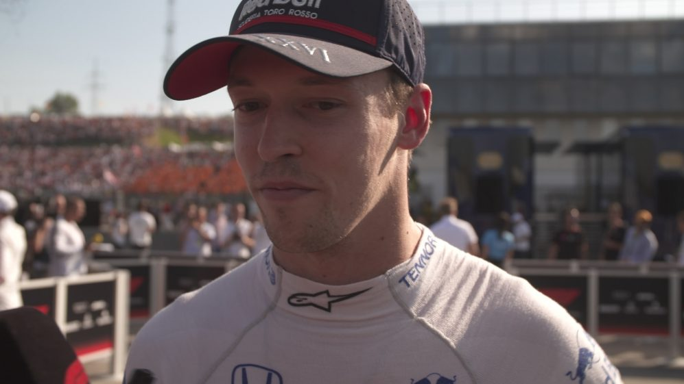 Daniil Kvyat: 'We pitted too early' today