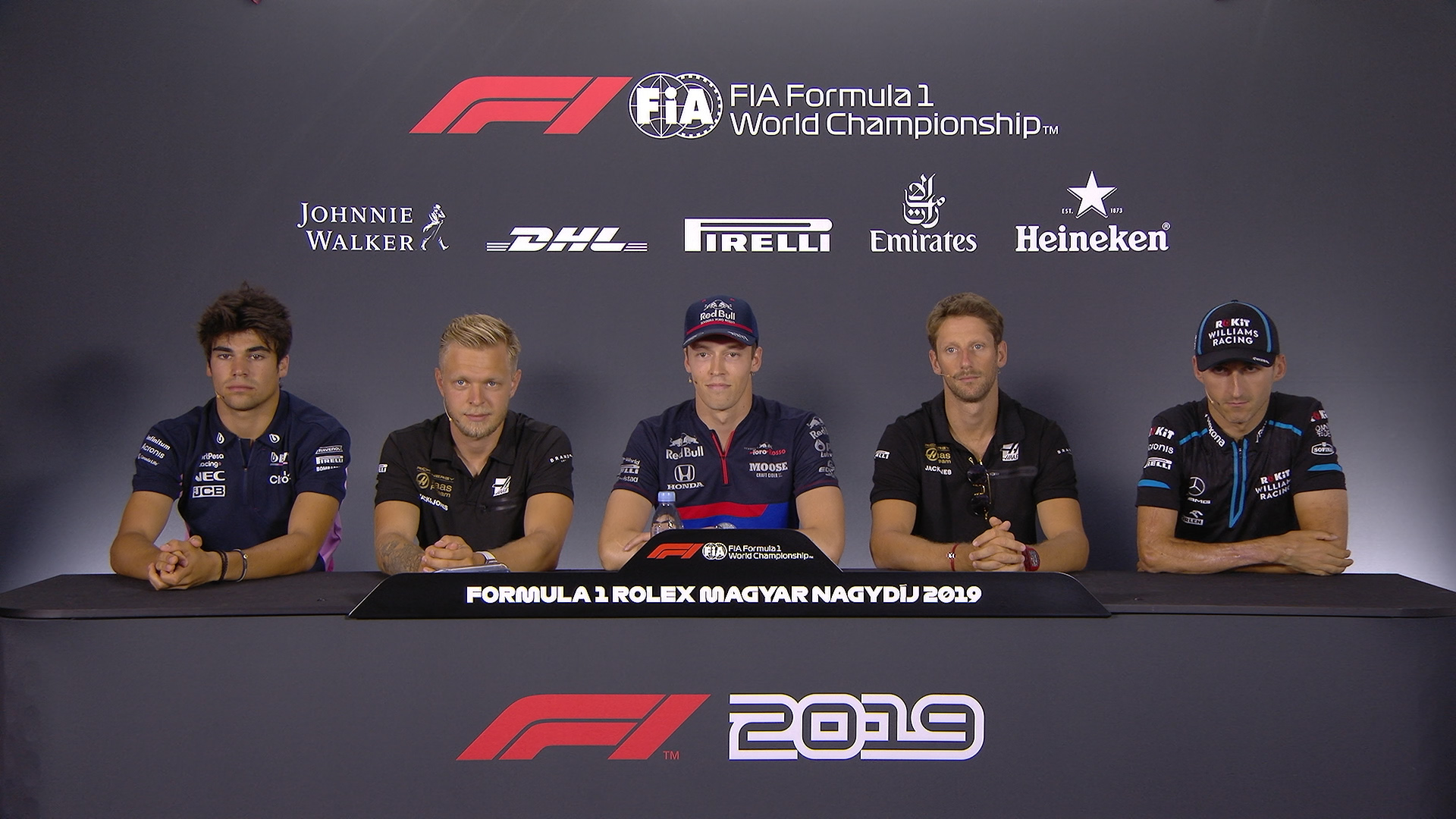 HUNGARY: FIA pre-race press conference highlights​