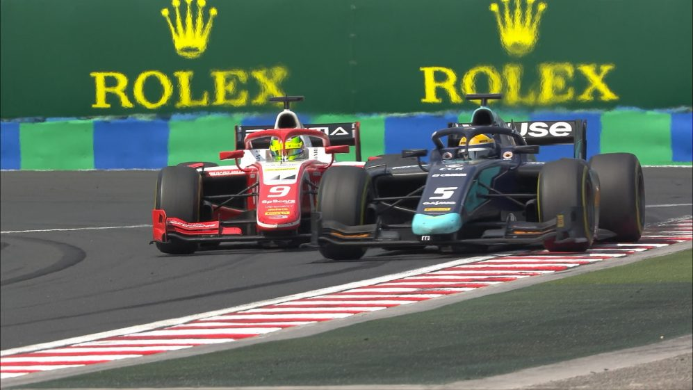 F2 2019 Round 8: Hungary feature race highlights
