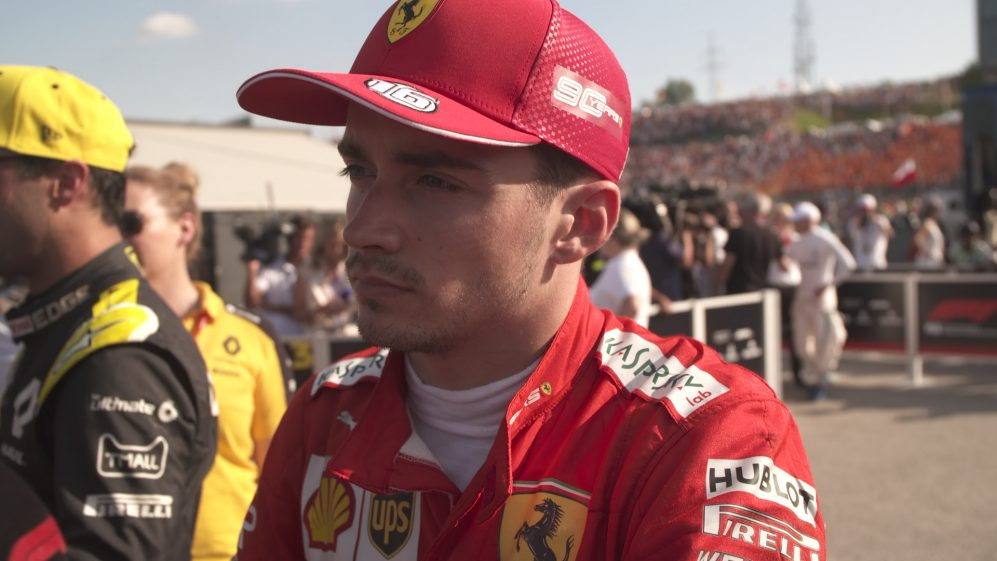 Charles Leclerc: I need to improve my driving 'a little bit'