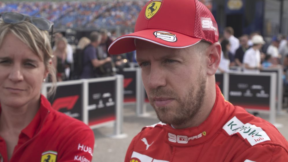 Sebastian Vettel: We got the maximum out of the car today