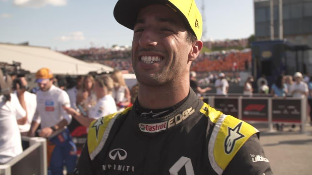 Daniel Ricciardo: 'Wasn't too impressed' with my race today