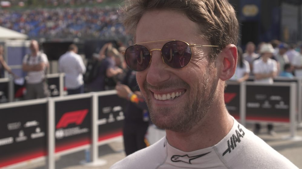 Romain Grosjean: P9 was good but 'I'm worried for the race'