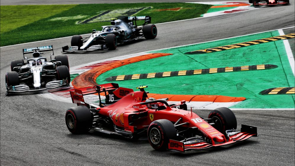 Leclerc's epic battle with Mercedes at Monza