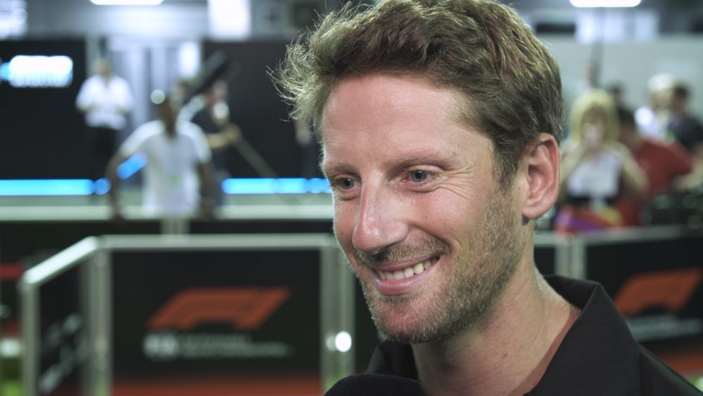 Romain Grosjean: Happy to be staying with Haas next season