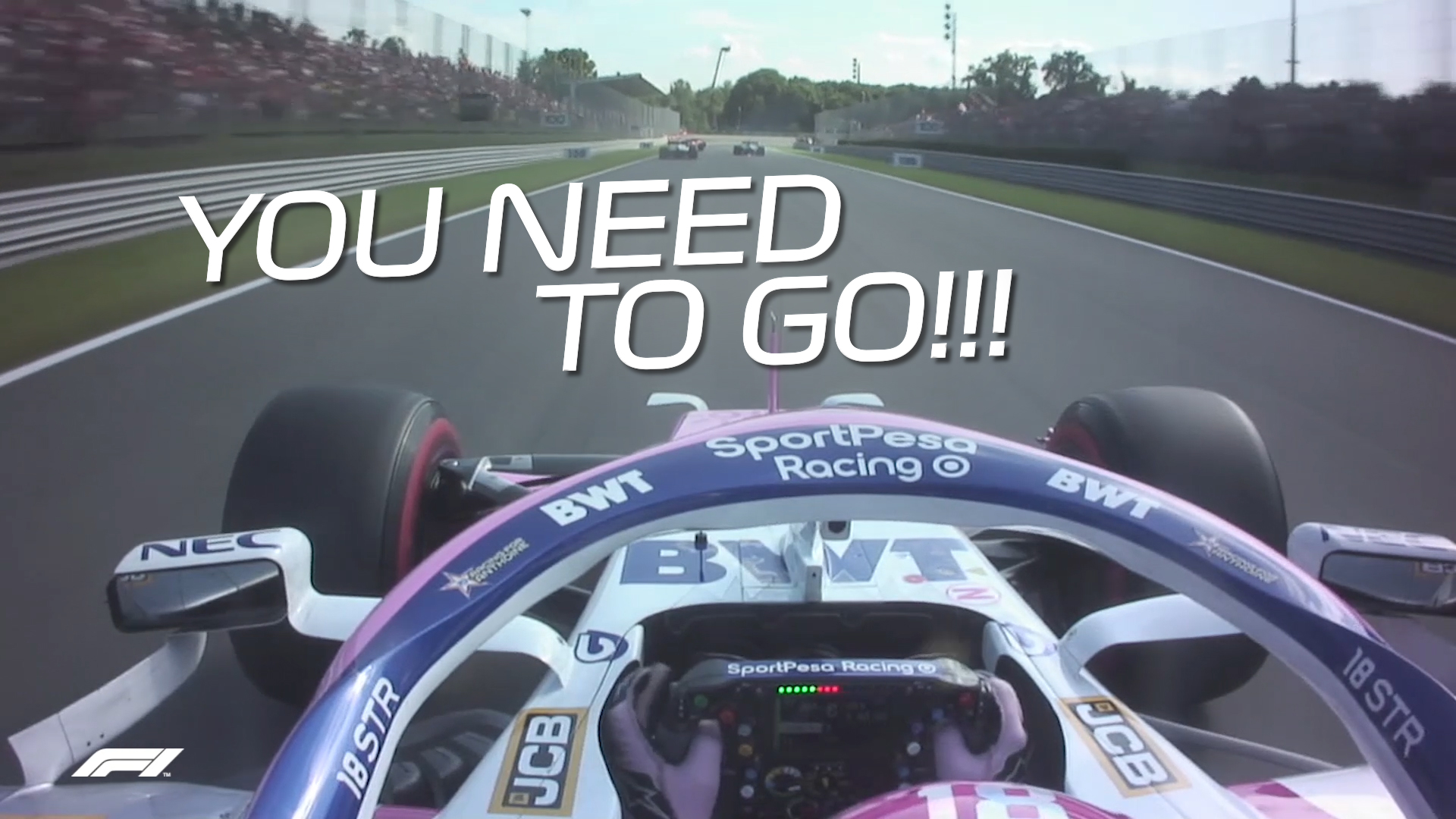 Italian Grand Prix 2019: Team radio video from the end of