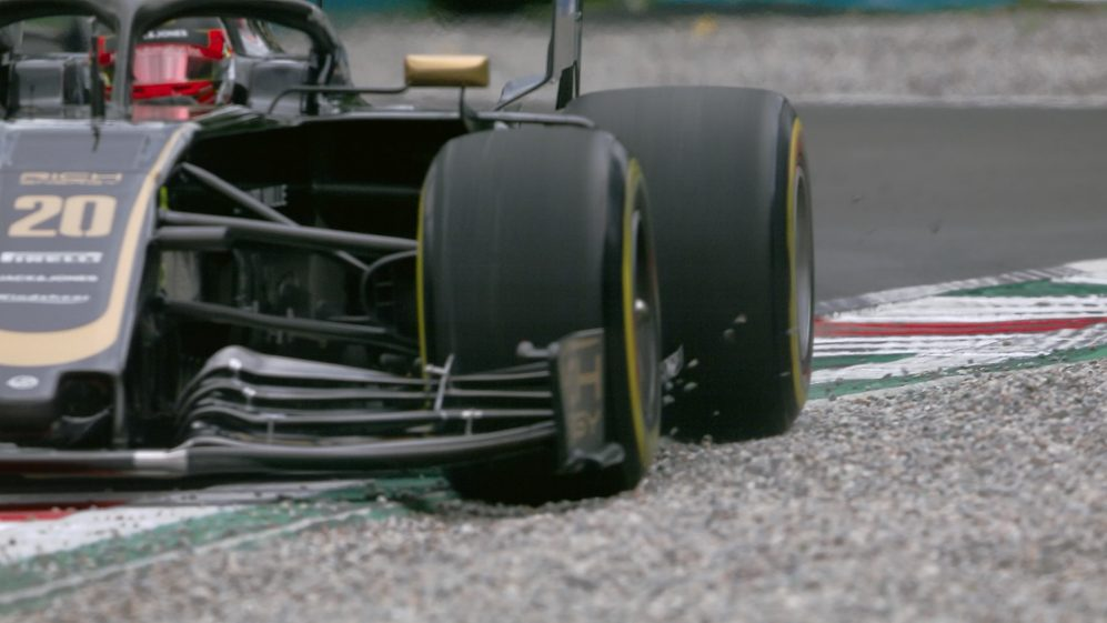 Wet conditions catch drivers out on Friday in Italy