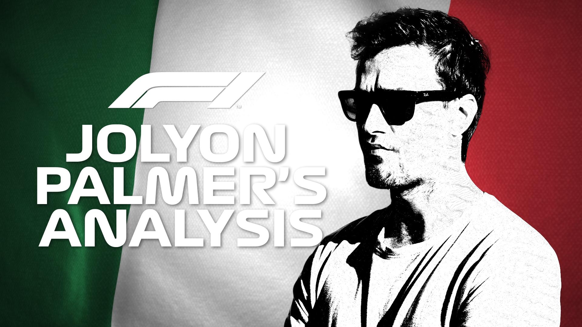 Jolyon Palmer's Analysis: 2019 Italian Grand Prix