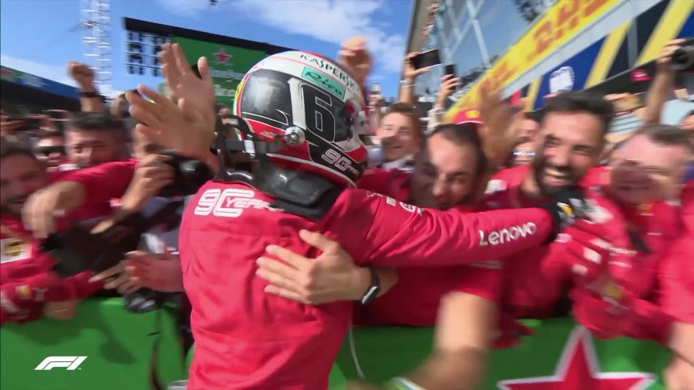 Italian GP: Leclerc becomes Ferrari legend with victory at Monza