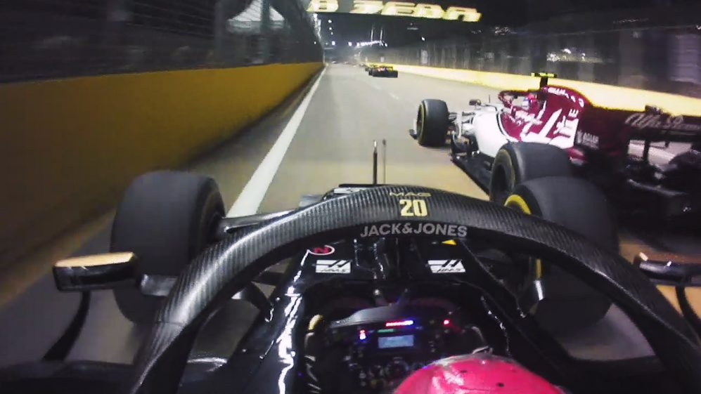 The ultimate hypercut from the start of the Singapore Grand Prix