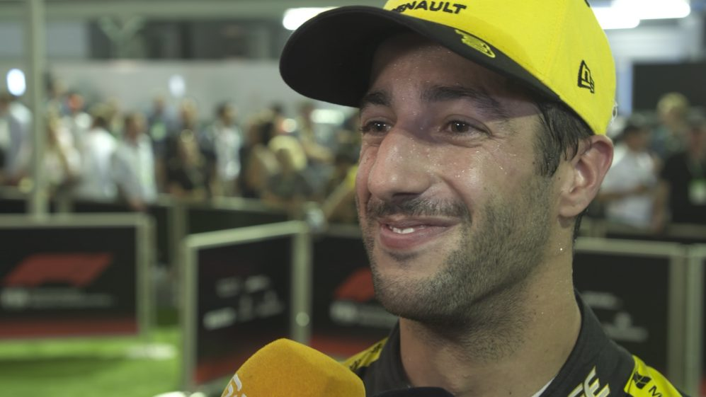 Daniel Ricciardo: 'I was having a lot of fun' at start
