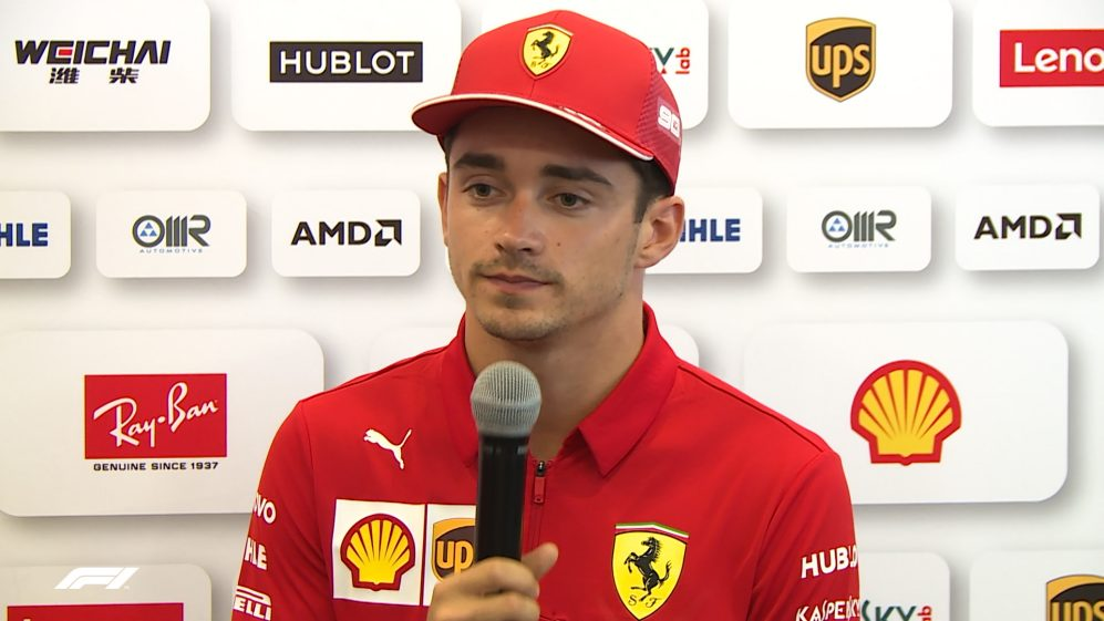 Charles Leclerc: 'We're going to struggle a bit more' here