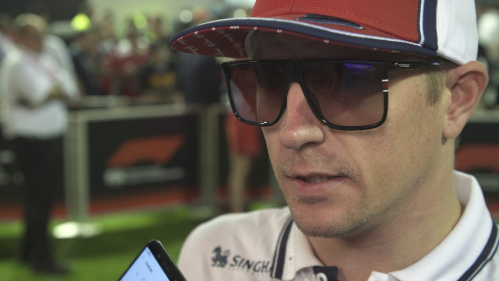 Kimi Raikkonen: I saw Kvyat 'but it was too late'