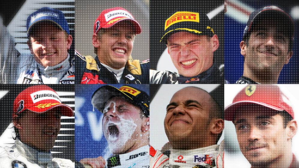 2019 drivers' first F1 victories