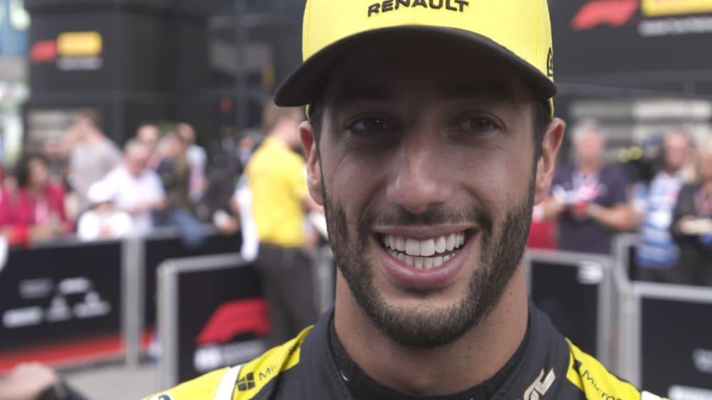Daniel Ricciardo: Result in Monza 'a statement'