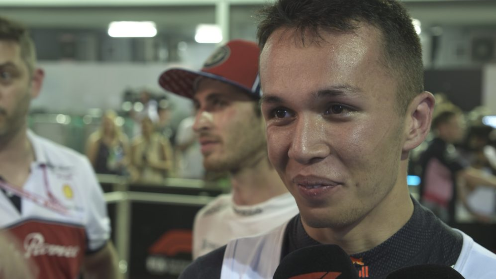 Alexander Albon: Valtteri definitely had the pace over me