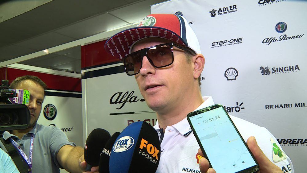 Kimi Raikkonen: Lack of consistency makes it 'impossible for drivers'